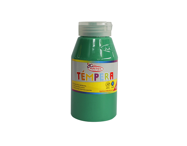 Frasco 250 Ml Témpera Verde Claro 51