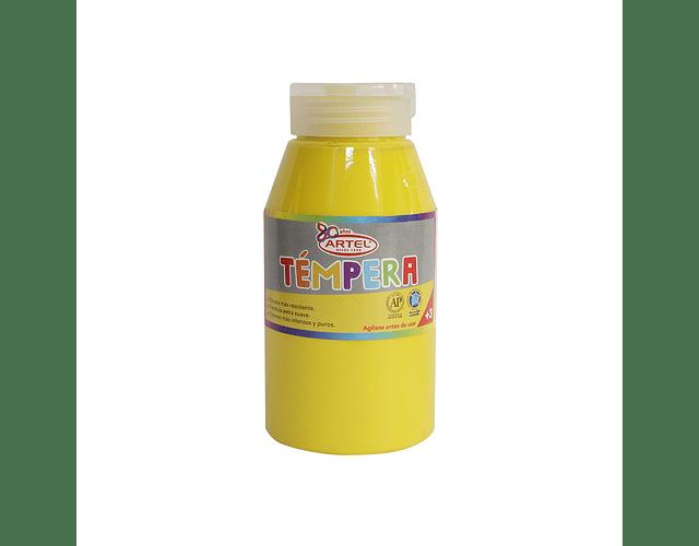 Frasco 250 Ml Témpera Amarillo Limón 72