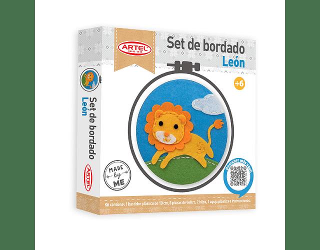 Set Bordado Infantil León