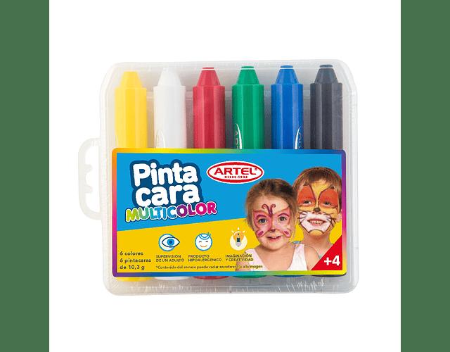 Pinta Cara 6 Colores