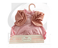 Vestido rosado con chaleco muñeca 33cm
