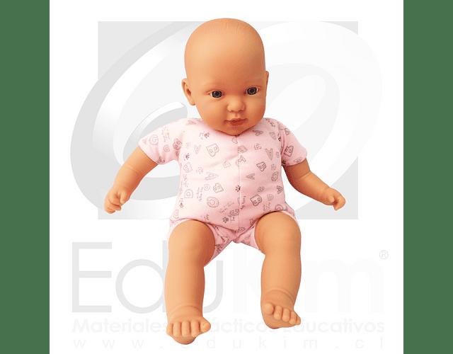Muñeco 45 cm rosa