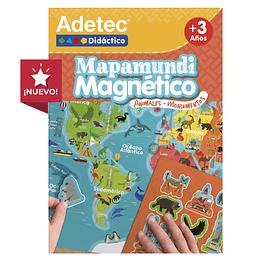 MAPAMUNDI MAGNÉTICO ANIMALES-MOMENTOS UNIDAD