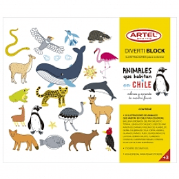 Divertiblock Animales Chilenos