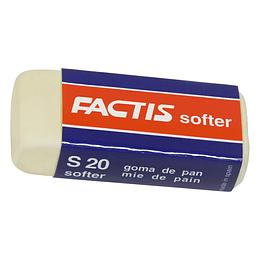 Goma miga suavizada S20 Factis