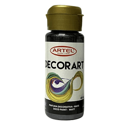 PINTURA DECORART NEGRO N°21 60ML