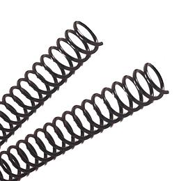 Espiral Plástico • 12 mm • Negro