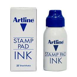 Tinta Tampon Azul 50cc Unidad