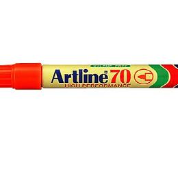Marcador Permanente 70 Rojo  Unidad