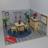 Mueble Miniatura Armable Comedor