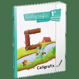 Caligrafía para 1° básico - 2do semestre Cuadricula