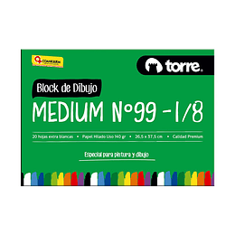 Block de dibujo medium nº 99 1/8