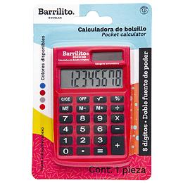 Calculadora de Bolsillo 8 Dígitos