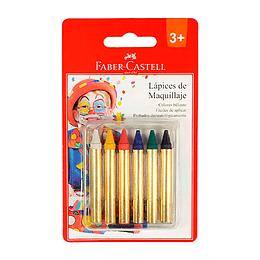 Lapices de Maquillaje 6 colores