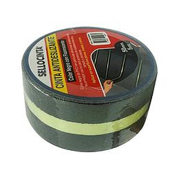 Cintas Antideslizantes Sup. Normal Color Negro con Fluorescente 50mm x 5 mts