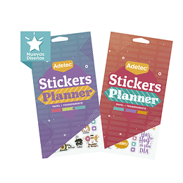 BLOCKS DE STICKERS PLANNERS ADHESIVOS