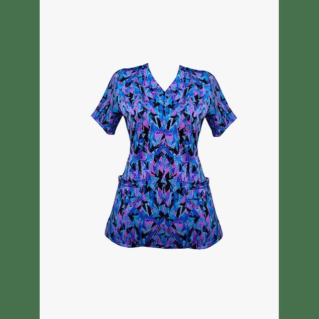 Blusa Estampada diseño Geofuscia