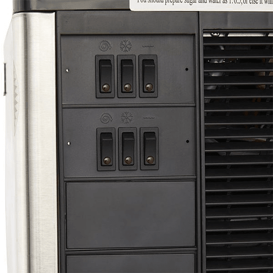 Máquina de Granizado 2 Vasos C/Cenefa 12X2 Lts VENTUS  - Image 5