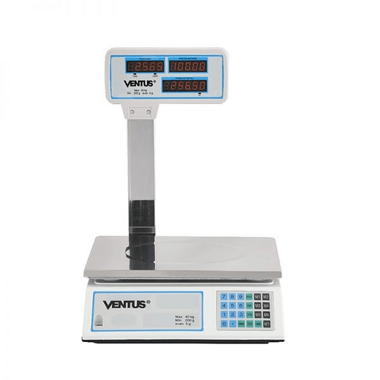 Balanza Digital de 40 Kgs Visor Aereo VENTUS. - Image 5