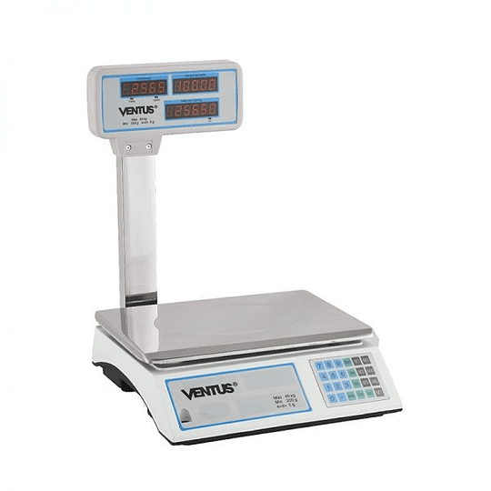 Balanza Digital de 40 Kgs Visor Aereo VENTUS. - Image 7