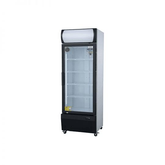 Visicooler de 1 Puerta Frio Forzado 540 litros Luz Led VENTUS. - Image 2