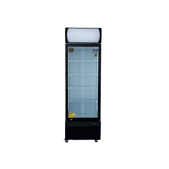Visicooler 1 Puerta Frío Forzado 370 litros Luz Led VENTUS. - Image 1