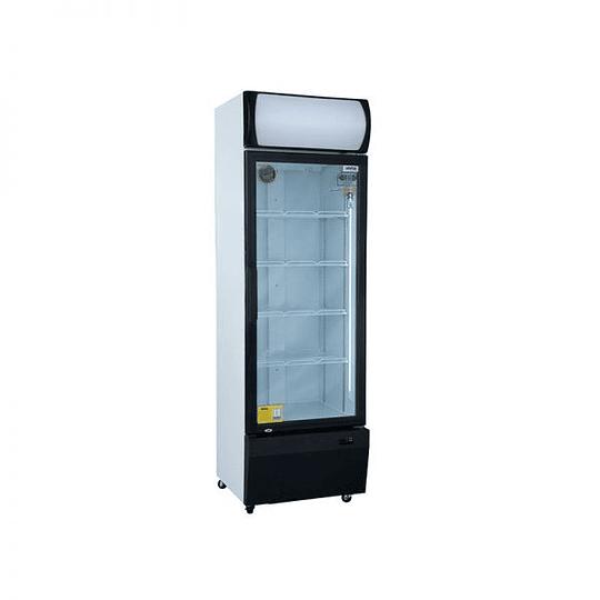 Visicooler 1 Puerta Frío Forzado 370 litros Luz Led VENTUS. - Image 2