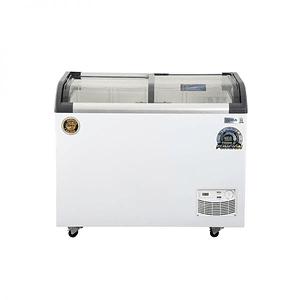 Congeladora Triple Función Vidrio Curvo 320 lts Dual VENTUS.