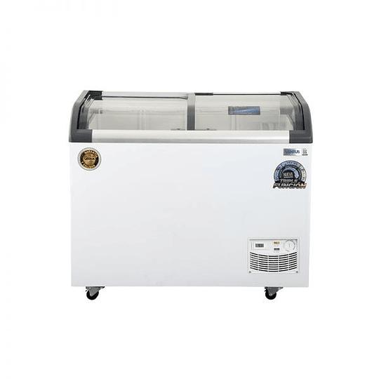 Congeladora Triple Función Vidrio Curvo 320 lts Dual VENTUS. - Image 1