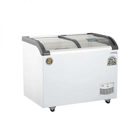 Congeladora Triple Función Vidrio Curvo 320 lts Dual VENTUS. - Image 4