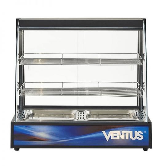 Vitrina mantenedora de alimentos curva de 2 niveles VENTUS - Image 1