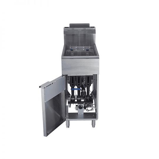 Freidora Gas Alta Producción 2x18 Lts VENTUS - Image 4