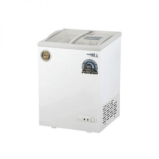 Congeladora Triple Función Vidrio Semi Curvo 100 litros VENTUS. - Image 4