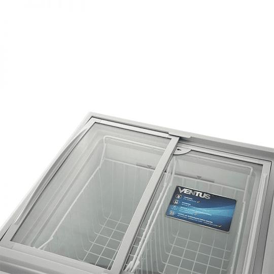 Congeladora Triple Función Vidrio Semi Curvo 100 litros VENTUS. - Image 6