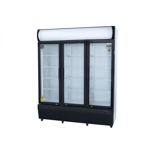 Visicooler 3 Puertas Abatibles 1200 litros Luz Led VENTUS. - Image 2