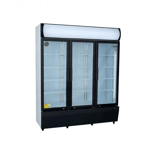 Visicooler 3 Puertas Abatibles 1200 litros Luz Led VENTUS. - Image 3
