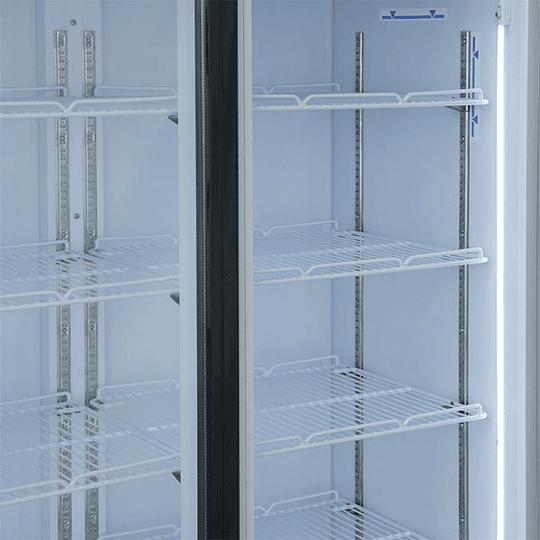 Visicooler 3 Puertas Abatibles 1200 litros Luz Led VENTUS. - Image 5