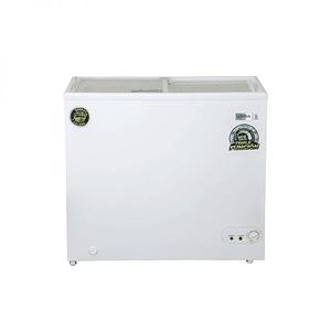 Congeladora Triple Función Tapa Vidrio 210 litros VENTUS.