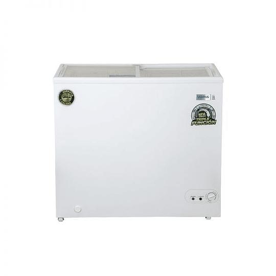 Congeladora Triple Función Tapa Vidrio 210 litros VENTUS. - Image 1
