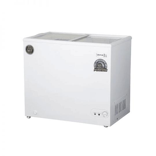 Congeladora Triple Función Tapa Vidrio 210 litros VENTUS. - Image 4