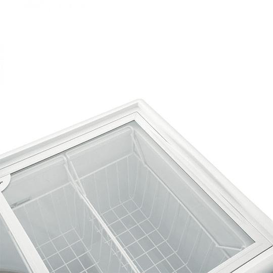 Congeladora Triple Función Tapa Vidrio 210 litros VENTUS. - Image 6