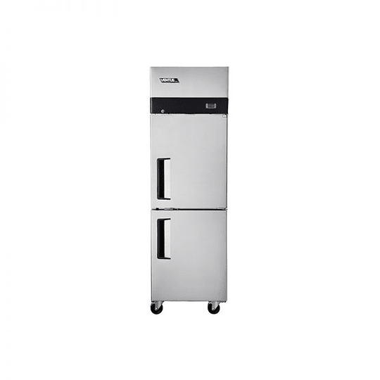 Freezer 2 Puertas Acero Inoxidable VENTUS.