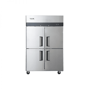 Freezer 4 Puertas Acero Inoxidable VENTUS.