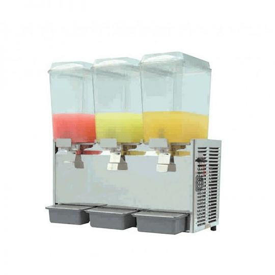 Dispensador de jugos concentrados de 3 vasos 18X3 LTS VENTUS - Image 1