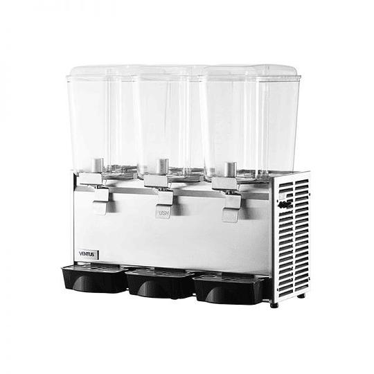 Dispensador de jugos concentrados de 3 vasos 18X3 LTS VENTUS - Image 2