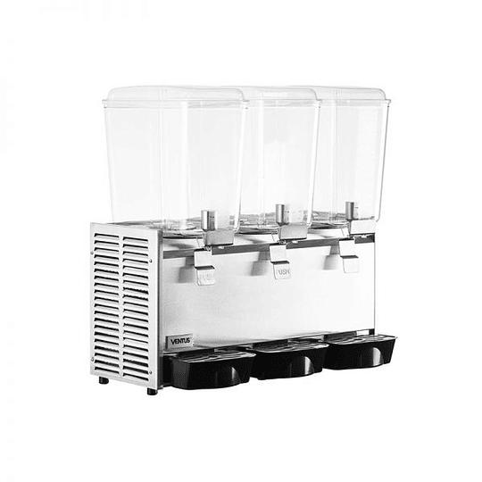 Dispensador de jugos concentrados de 3 vasos 18X3 LTS VENTUS - Image 3