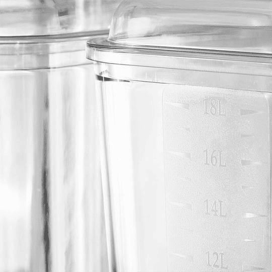 Dispensador de jugos concentrados de 3 vasos 18X3 LTS VENTUS - Image 5