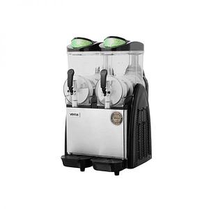 Máquina de Granizado 2 Vasos C/Cenefa 12X2 Lts Digital VENTUS.