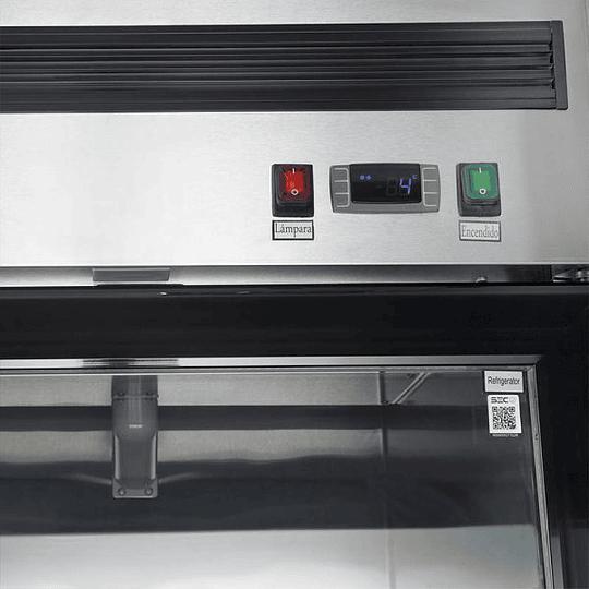 Refrigerador de acero inoxidable 580 lts VENTUS - Image 5