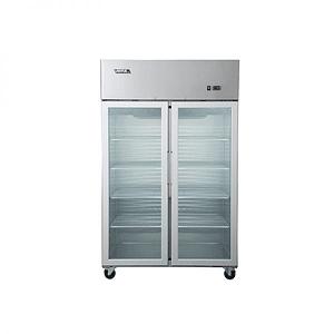 Refrigerador 900 lts 1 cuerpo 2 puertas de vidrio VENTUS